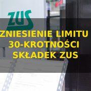 Zniesienie limitu 30 krotności składek zus - projekt ustawy